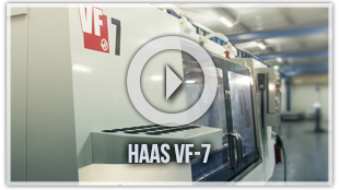 Aluminum Fabrication Haas VF-7