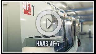 Aluminum Fabrication Haas VF-7