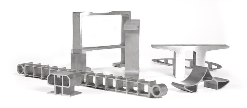 Specialized Custom Shape Aluminum Extrusions