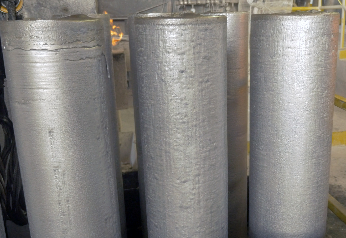Aluminum alloys casthouse